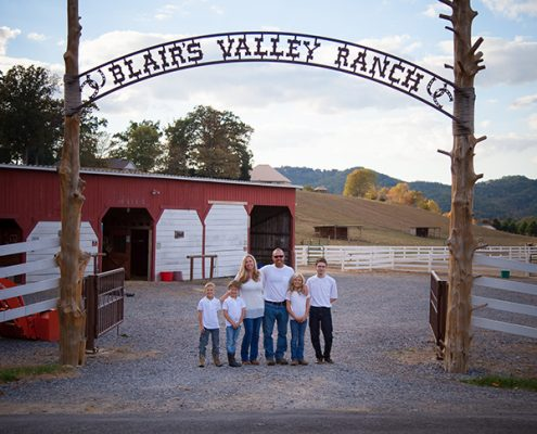 Blairs Valley Ranch Family